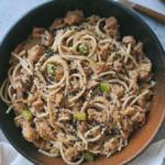 receta de espaguetis integrales